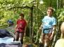 Čištění a první lezení na Šibeničáku