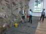Netopýři čistí stěnu v DDM